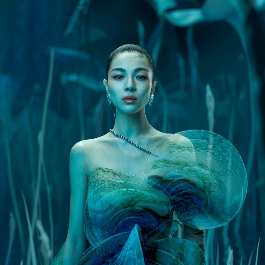 Elaine Zhong for Harper's Bazaar China