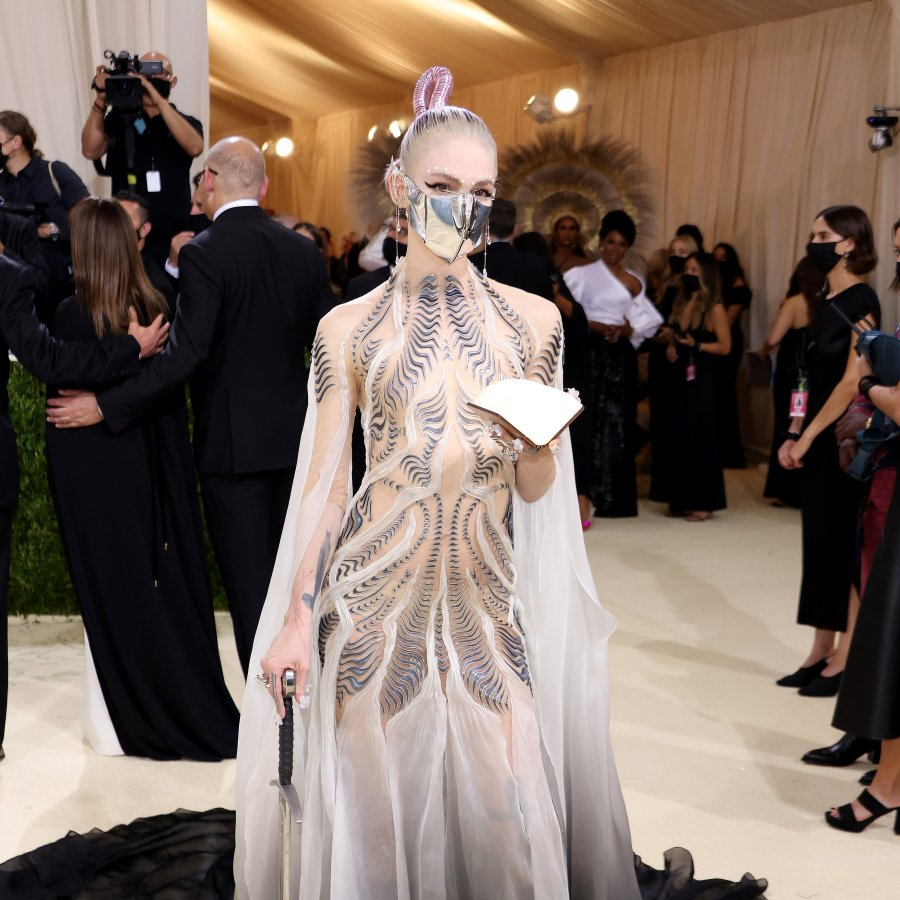 Grimes for this year's Met Gala