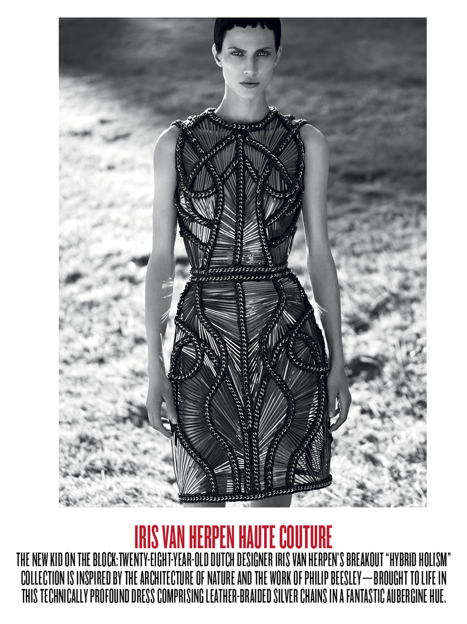 Aymeline Valade by Karim Sadli (All Hail Couture   V #80 Winter 2012) 8