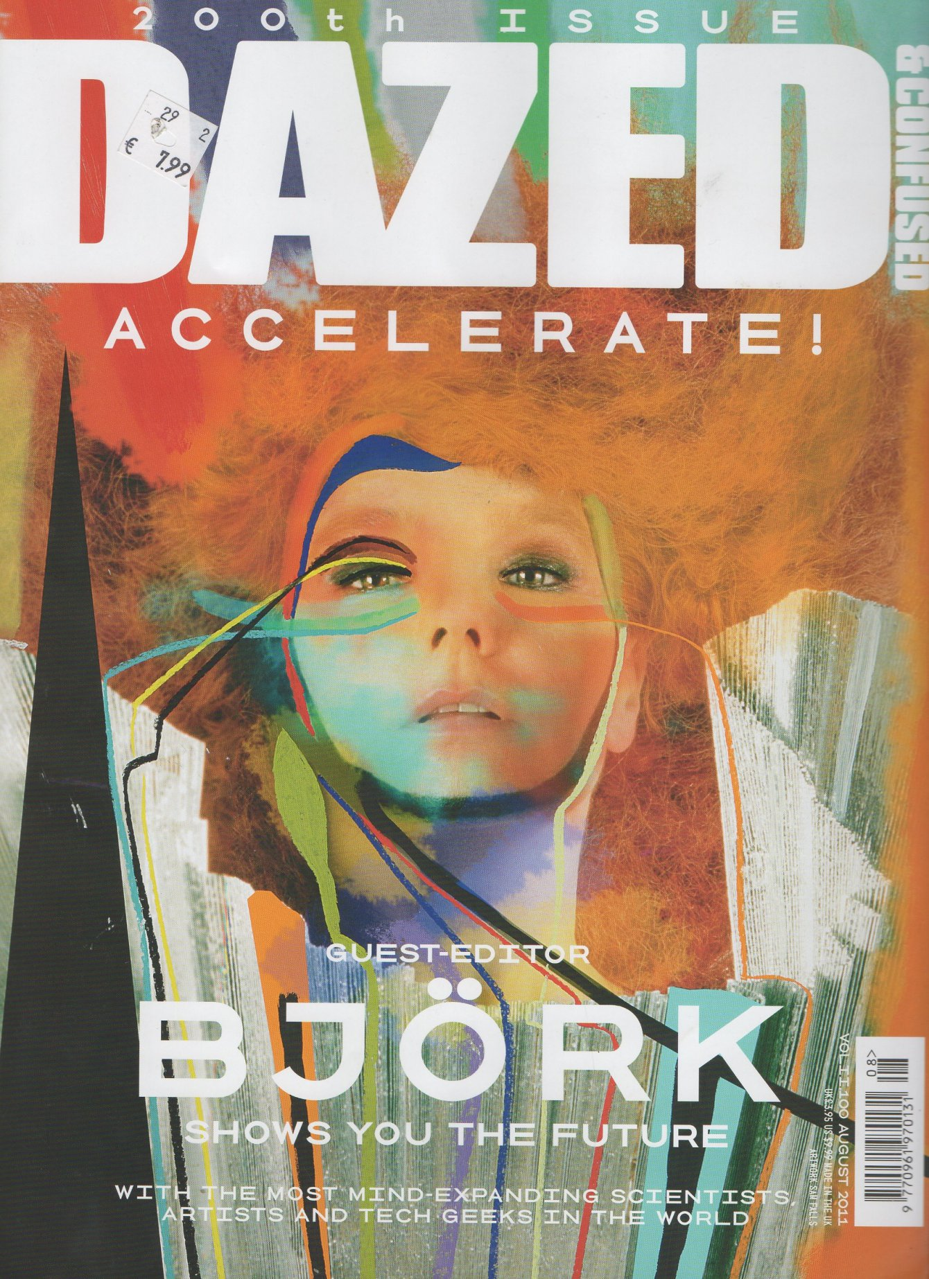 DAZED AND CONFUSED  BJORK COVER