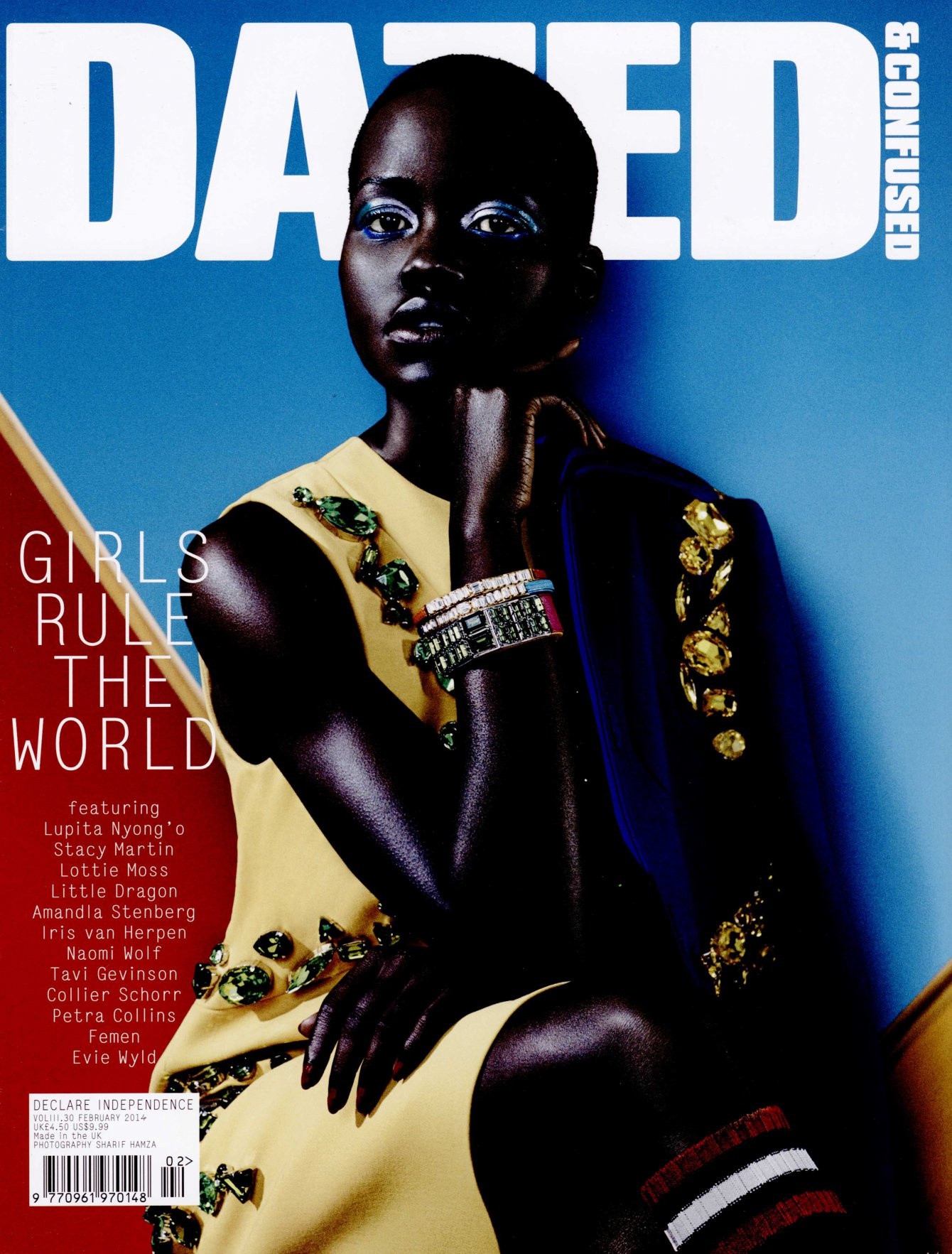 DAZED UNITED KINGDOM feb 14 IRIS VAN HERPEN cover