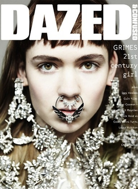 Grimes for Dazed and Confused