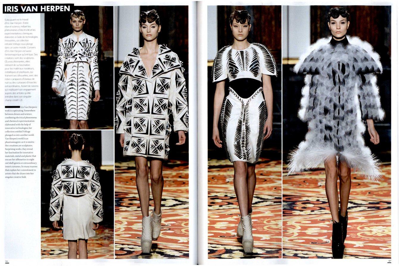 L'OFFICIEL 1000 MODELES Haute Couture Paris ss13 IRIS VAN HERPEN 2