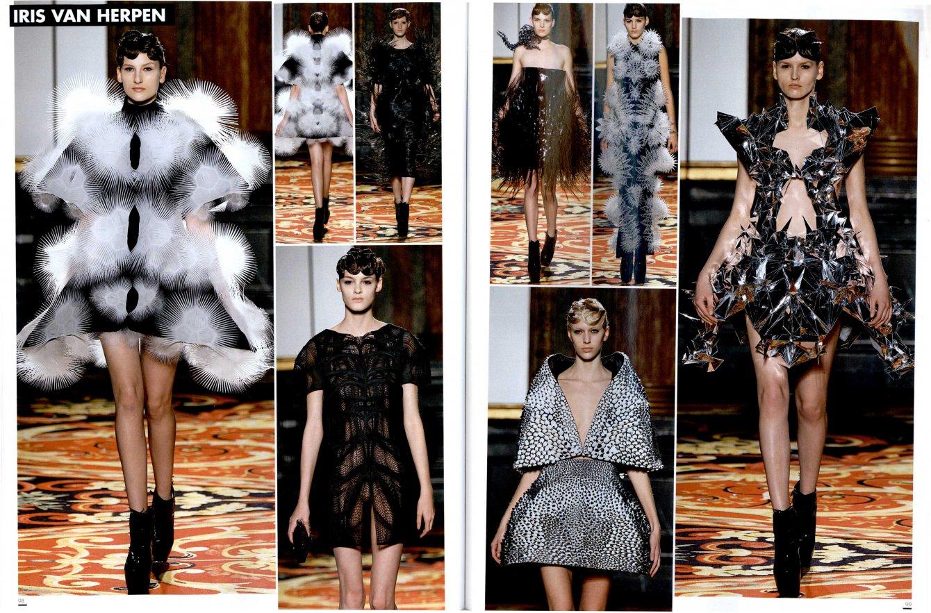 L'OFFICIEL 1000 MODELES Haute Couture Paris ss13 IRIS VAN HERPEN 3