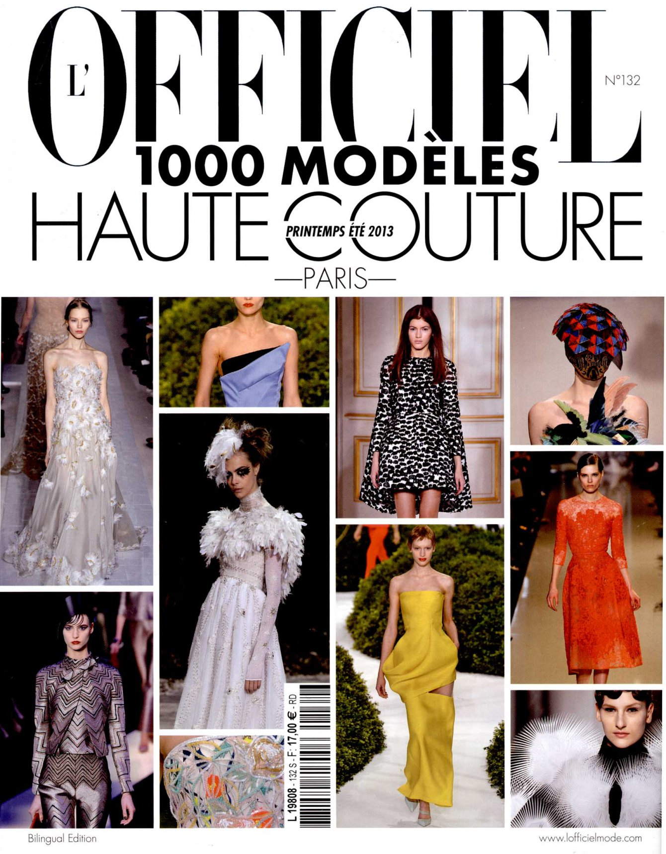 L'OFFICIEL 1000 MODELES Haute Couture Paris ss13 IRIS VAN HERPEN COVER