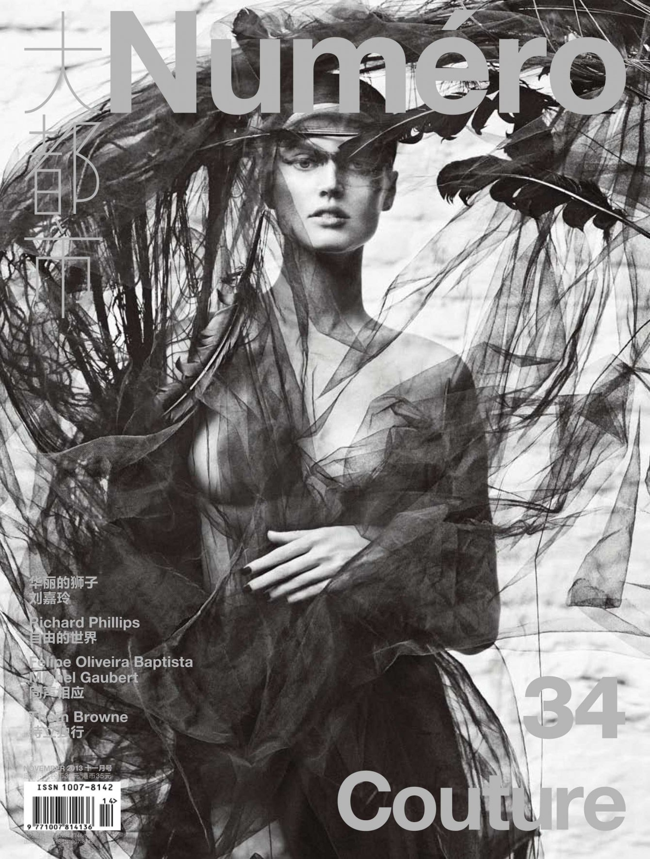 NUMERO CHINA nov 13 IRIS VAN HERPEN cover