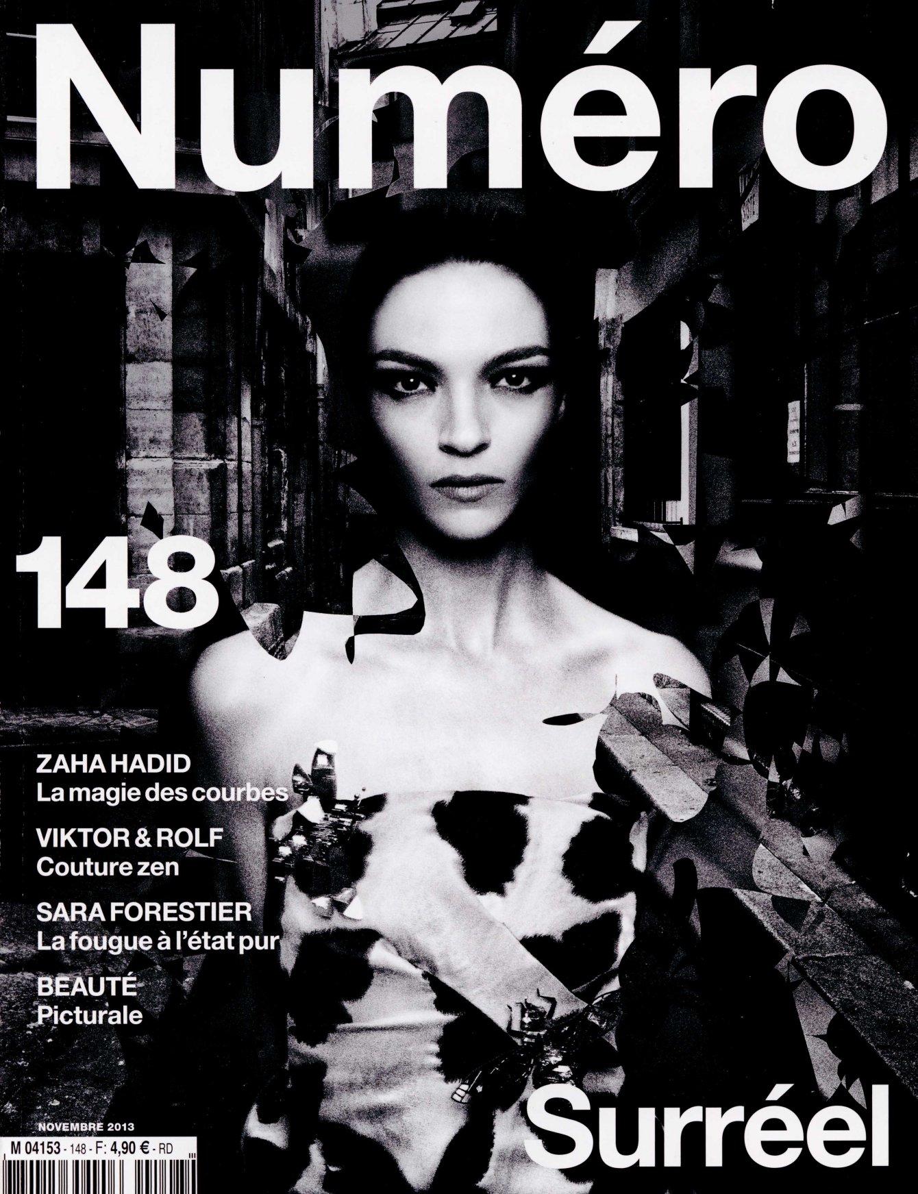 NUMERO nov 13 IRIS VAN HERPEN cover