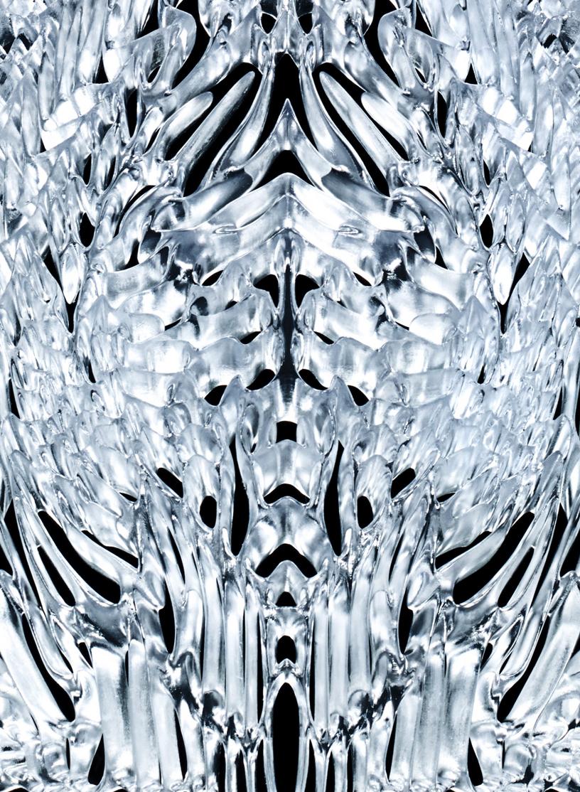 ice dress detail