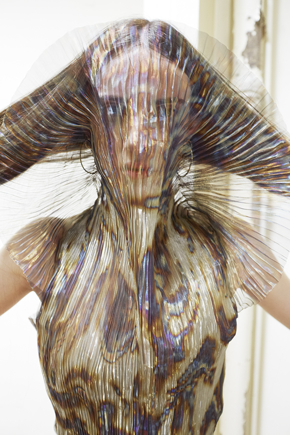 Hacking Infinity FW15 Iris van Herpen dress photographed by Juergen Teller