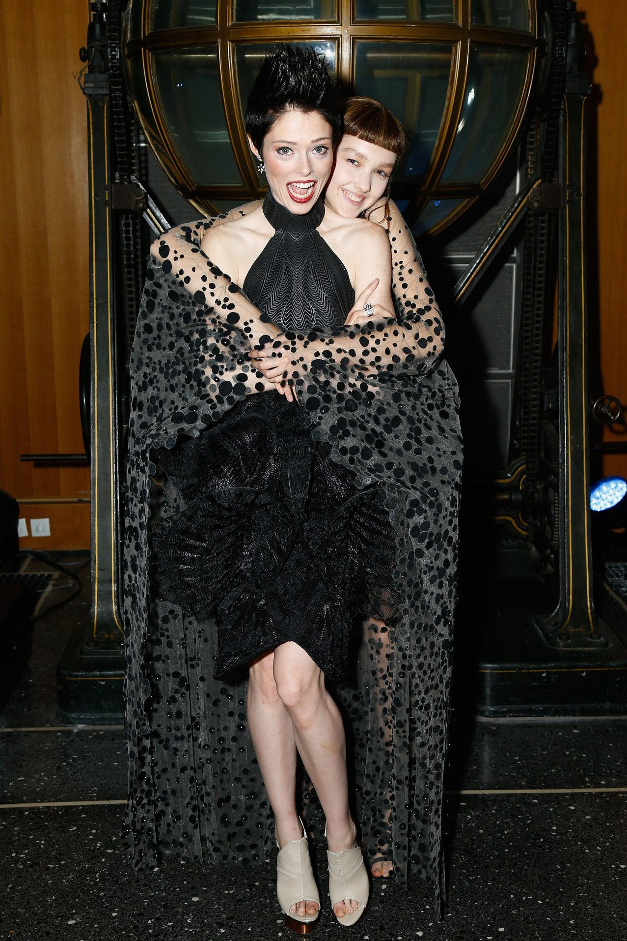 Coco-Rocha-and-modelJPG